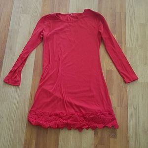 Red dress size Small